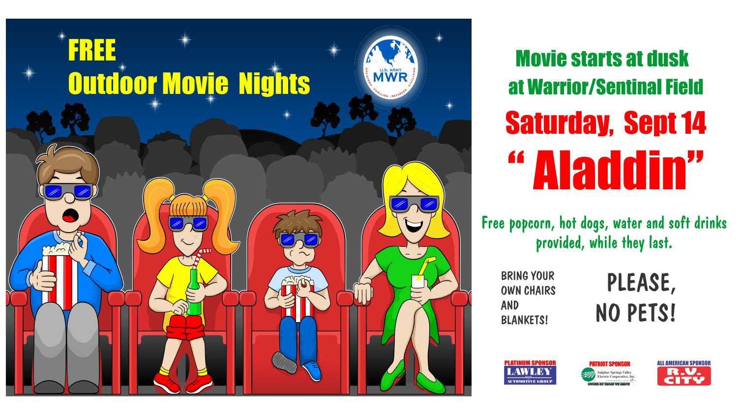 US Army MWR :: View Event :: Free Outdoor Movie Night
