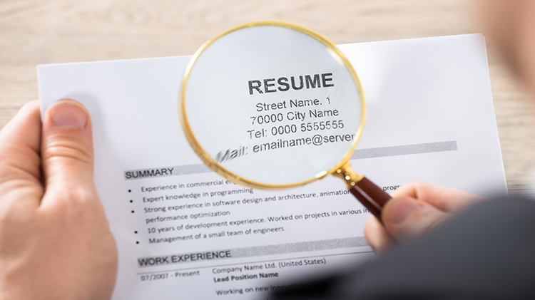 Creating Your First Resume