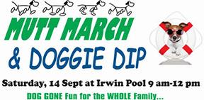Mutt March & Doggie Dip