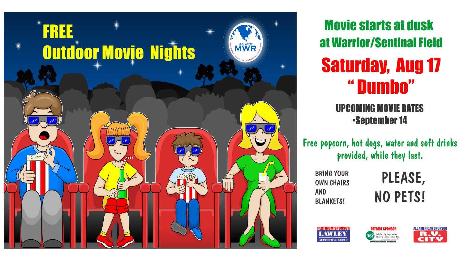 Free Outdoor Movie Night