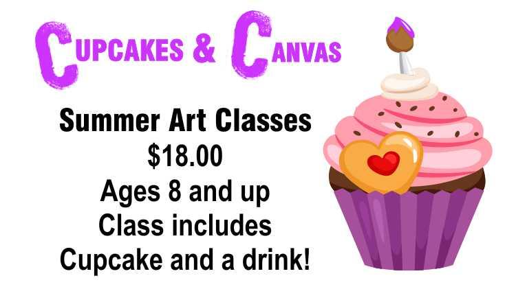 """Cupcakes & Canvas,"""